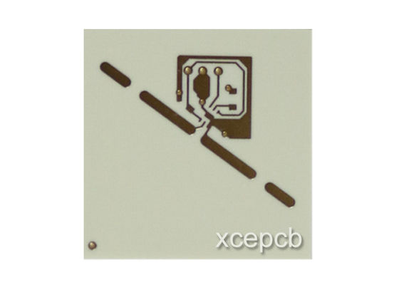 China Rogers 4003C High Frequency PCB With Gold Plating Surface Finish 0.2mm 1OZ PCB Supplier