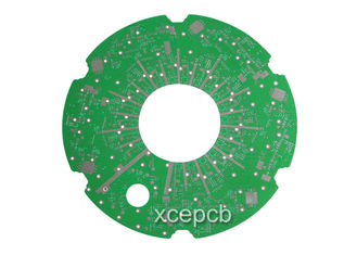 China High Frequency FR4 PCB with Rogers 4350B Blind Hole Technology , Custom 6 Layer Multilayer PCB Boards Supplier