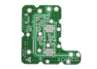 China FR4 Double Sided PCB Rigid High Frequency Printed Circuit Board Manufacturing Process Supplier