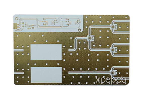 China Immersion Gold Rogers PCB Rigid Printed Circuit Board Fabrication Supplier