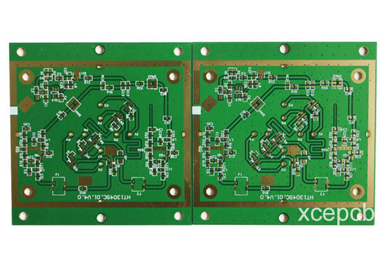 China 2+6+2 Stack Up Impedance HDI Multi Layer PCB FR4 Board With Rogers Mixed Compression Supplier