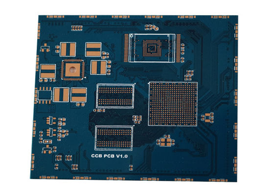 China 4 Layer BGA Rigid FR4 PCB , Blind Hole Circuit Board Fabrication Supplier