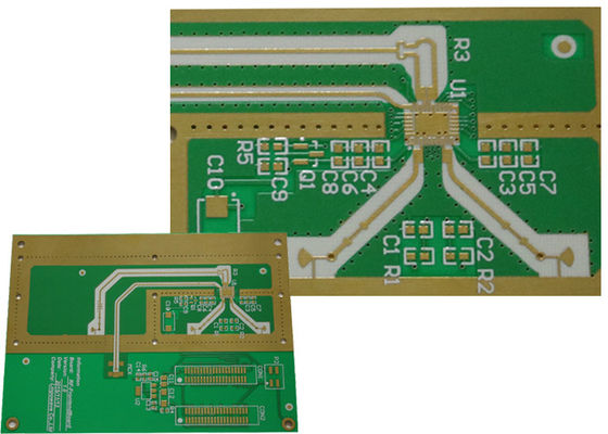 China Hybrid PCB ROGERS Ro3000+ IT180A RF Board for for automotive collision avoidance radar Supplier
