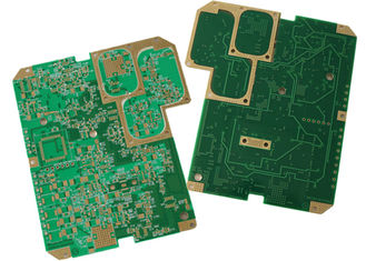 China Multilayer Rogers PCB , Gold Plate Custom Printed Circuit Board Long Lifespan Supplier