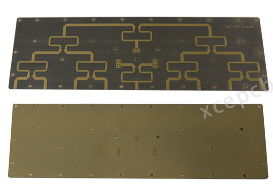 China Teflon Electronic Printed Circuit Board Taconic Series Material RF-35 Green Solder Mask Supplier