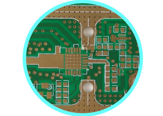 China 4 Layer Hybird High Power RF Microwave PWB printed circuit board pcb For Radio Telescope Supplier