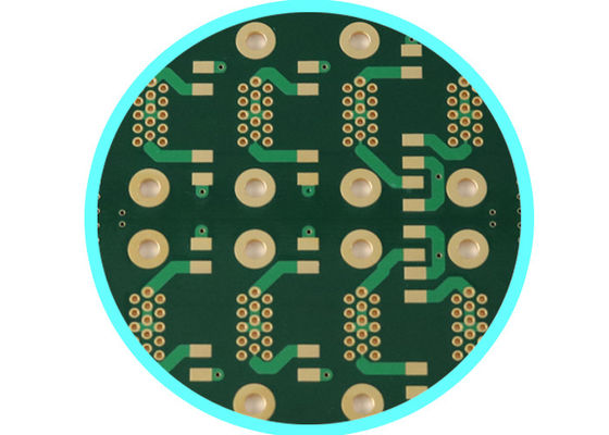 China UHF Rogers RF Pcb Board With ER = 3.38 Blind Buried Via Hole 1.524 MM Used In Wireless Couplers Supplier