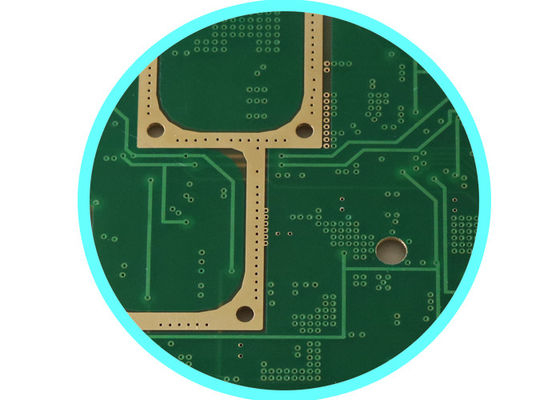 China Multilayer RF PCB High Frequency , Microwave F4B Pcb Board 0.38 MM ER = 2.2 Supplier