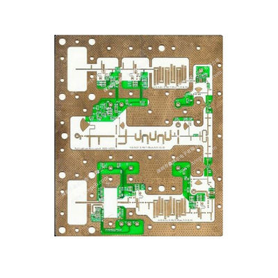 China Rogers 4003 Material Double Sided Electronic Circuit Board For Zero Bias Detector Supplier