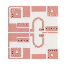 China Hybrid Laminate High Frequency PCB With Electrolytic Gold 4 Layer Board Supplier
