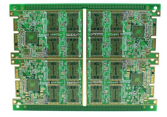 China Rigid Multilayer PCB , High Density 8 Layer Immersion Gold PCB Automatic Control Circuit Design Supplier