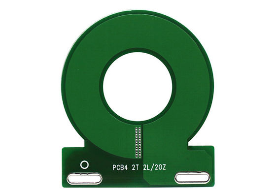 China Electric PCBA For Energymeter Multilayer Circuit Board PCB Green Mask Material Supplier