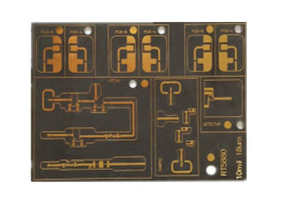 China 6 Layer Ro4350B Rogers PCB High Density High Frequency Material Printed Circuit Board Supplier