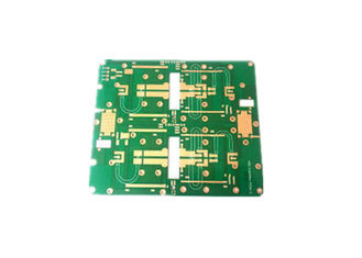 China Custom 4 Layer HDI 0.508MM Rogers PCB In Immersion Gold Surface 1oz Copper Supplier