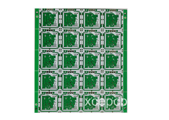 China 24G high frequency microwave PCB Antenna PCB high quality Multilayer PCB  manufacturer sensor PCB Supplier