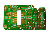 Good Quality Fr4 High Frequency PCB Circuit Green For Wireless Communication Field Suppliers