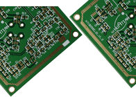 Good Quality 4 Layer Rogers Mixed FR4 Wifi Antenna pcb boards With 5.8 GHz 3 Oz Copper Through Hole Via Suppliers