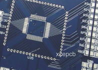 Good Quality Fr4 Multilayer PCB printed circuit board manufacturing process With Blue Solder Mask Suppliers