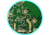 China Hi-Speed & Hi-Density Design Immersion Gold PCB Electronic Equipment Circuit In 0.8mm Thickness company