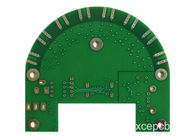 Lead Free HASL 2 Layer FR4 PCB Circuit Boards Green 0 6MM Thickness