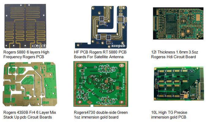 HDI Board Thickness Fr4 Printed Circuit Boar OSP HDI High
